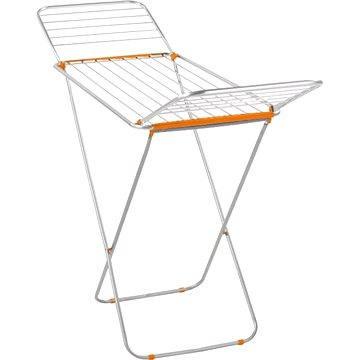 Sušák na prádlo Leifheit Siena 180 Aluminium oranžový 81657 (4006501816573)