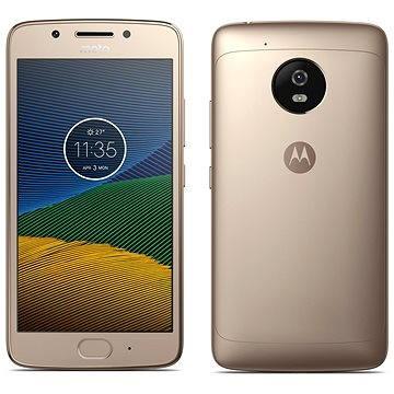 Motorola Moto G 5.generace Gold (PA610040CZ) + ZDARMA Digitální předplatné Týden - roční