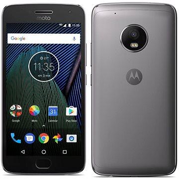 Motorola Moto G Plus 5.generace Grey (SM4470AC3N7) + ZDARMA Digitální předplatné Týden - roční