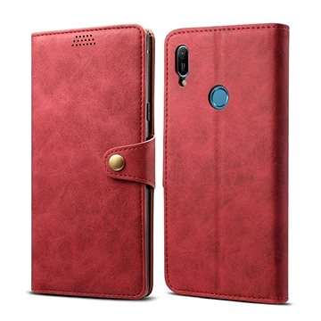 Lenuo Leather pro Huawei Y6 / Y6 Prime (2019), Red (470521)
