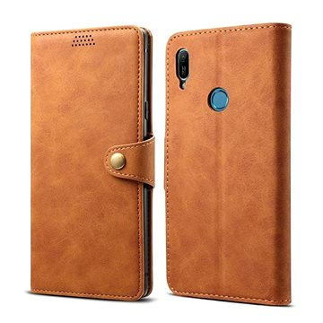 Lenuo Leather pro Huawei Y6 / Y6 Prime (2019), Brown (470522)