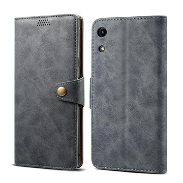 Lenuo Leather pro Honor 8A, šedá (470535)