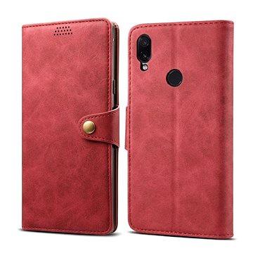 Lenuo Leather pro Xiaomi Redmi Note 7, červená (470545)