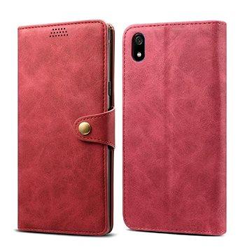 Lenuo Leather na Xiaomi Redmi 7A, červené