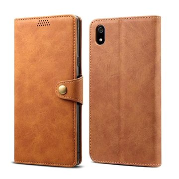 Lenuo Leather na Xiaomi Redmi 7A, hnědé