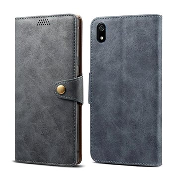 Lenuo Leather na Xiaomi Redmi 7A, šedé