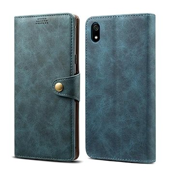 Lenuo Leather na Xiaomi Redmi 7A, modré