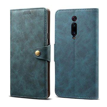 Lenuo Leather na Xiaomi Mi 9T/Mi 9T Pro, modré