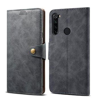 Lenuo Leather pro Xiaomi Redmi Note 8T, šedá (470830)
