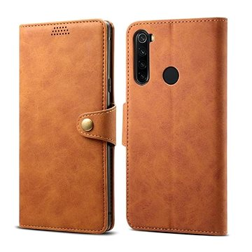 Lenuo Leather pro Xiaomi Redmi Note 8T, hnědá (470828)