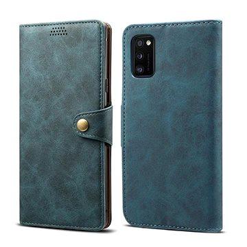 Lenuo Leather pro Samsung Galaxy A41, modrá (470927)