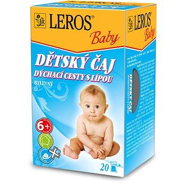 LEROS Baby Dětský čaj Dýchací cesty s lípou 20x2g (2470939)