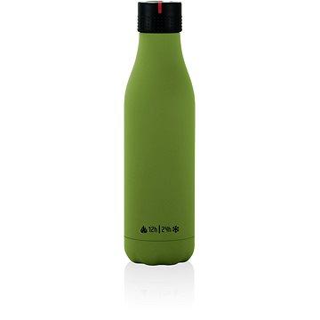 LES ARTISTES A-1964 Termohrnek 0.5l Bottle UP, Green