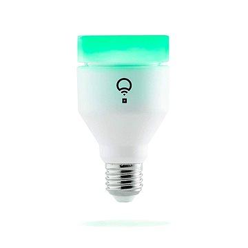 LIFX + Colour and White Wi-Fi Smart LED žárovka s Infra červeným viděním pro bezpečnostní kamery E27 (LHA19E27UC10P)