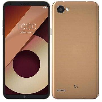 LG Q6 (M700N) Single SIM 32GB zlatá + ZDARMA Digitální předplatné Interview - SK - Roční od ALZY