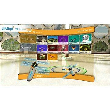 LifeLiqe VR 3D vzdělávací software ve virtuální realitě (elektronická licence) (LLQ01)