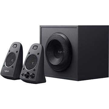 Logitech Z625 Powerful THX Sound (980-001256) + ZDARMA Adaptér PowerCube Original zelená k Logitech Z625