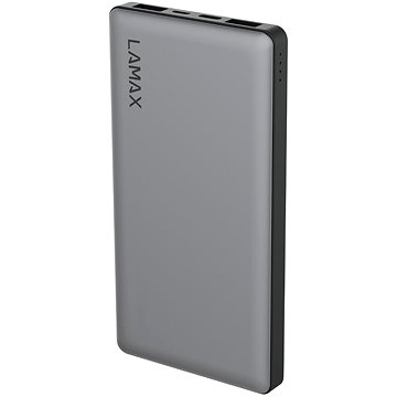 LAMAX 10000mAh Quick Charge silver (LM10000)