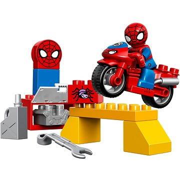 LEGO DUPLO 10607 Spidermanova dílna pro pavučinové kolo (5702015429719)