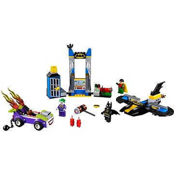 LEGO Juniors 10753 Joker útočí na Batcave (5702016116991)