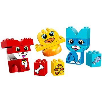 LEGO DUPLO My First 10858 Moji první skládací mazlíčci (5702016110838)