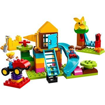 LEGO DUPLO My First 10864 Velký box s kostkami na hřiště (5702016117172)