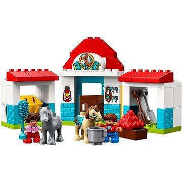 LEGO DUPLO Town 10868 Stáje pro poníka (5702016117196)