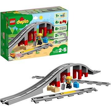 LEGO DUPLO 10872 Doplňky k vláčku – most a koleje (5702016117240)