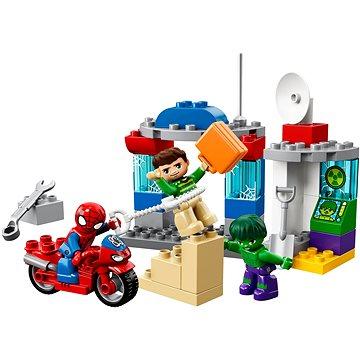 LEGO DUPLO Super Heroes 10876 Dobrodružství Spider-Mana a Hulka (5702016111941)
