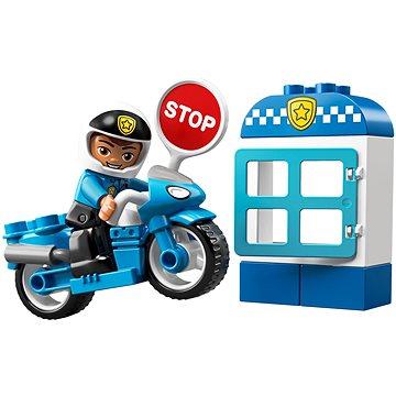 LEGO DUPLO Town 10900 Policejní motorka (5702016367645)