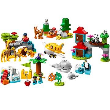 LEGO DUPLO Town 10907 Zvířata světa (5702016367706)