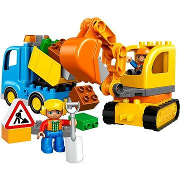 LEGO DUPLO 10812 Pásový bagr a náklaďák (5702015599399)