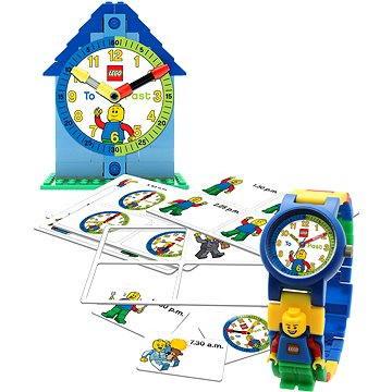 Hodinky LEGO Time Teacher 9005008 modré (5060286800751)