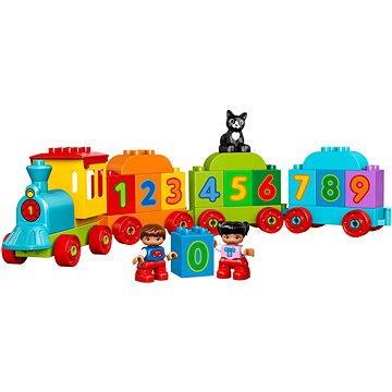 LEGO DUPLO My First 10847 Vláček s čísly (5702015866637)