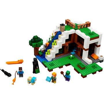 LEGO Minecraft 21134 Základna ve vodopádu (5702015865494)