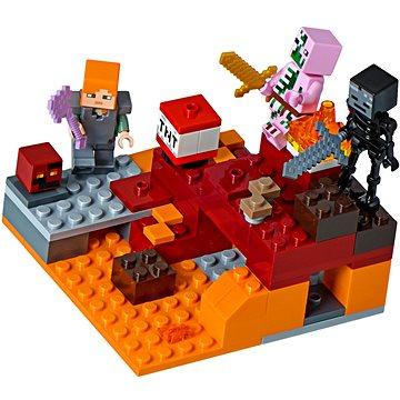 LEGO Minecraft 21139 Podzemní souboj (5702016108934)