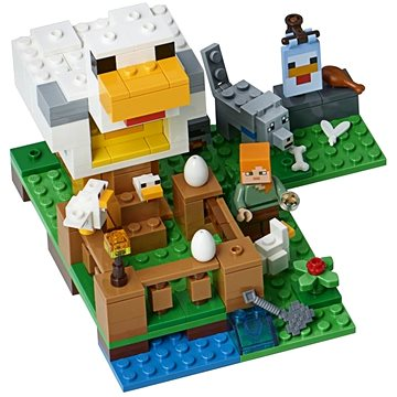 LEGO Minecraft 21140 Kurník (5702016108941)