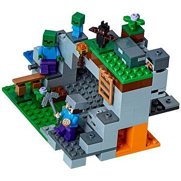 LEGO Minecraft 21141 Jeskyně se zombie (5702016109597)