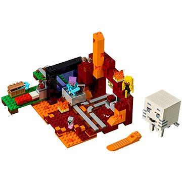 LEGO Minecraft 21143 Podzemní brána (5702016109610)