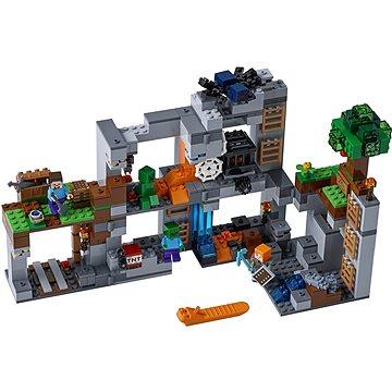 LEGO Minecraft 21147 Skalní dobrodružství (5702016109658)