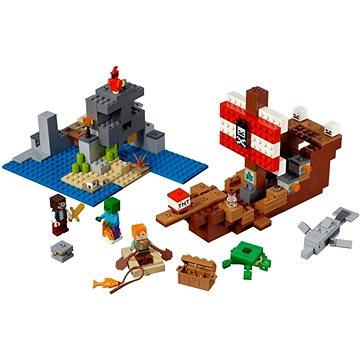 LEGO Minecraft 21152 Dobrodružství pirátské lodi (5702016370904)