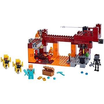 LEGO Minecraft 21154 Most ohniváků (5702016370928)