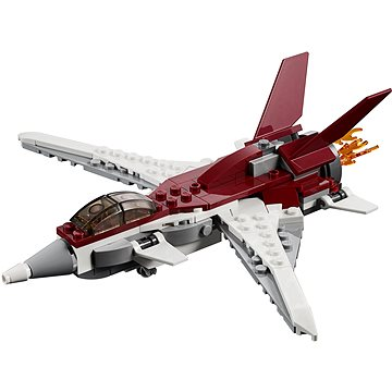 LEGO Creator 31086 Futuristický letoun (5702016367812)