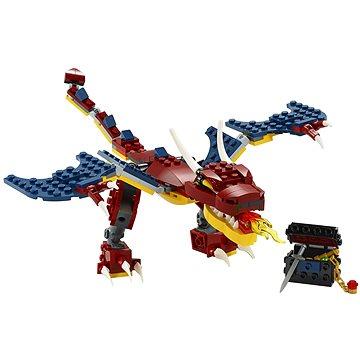 LEGO Creator 31102 Ohnivý drak (5702016616286)
