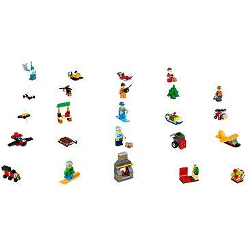 LEGO City 60155 Adventní kalendář (5702015866019)
