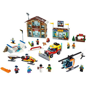 LEGO City Town 60203 Lyžařský areál (5702016595451)
