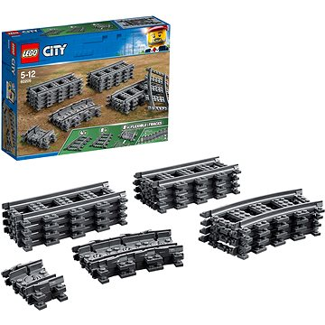 LEGO City Trains 60205 Koleje (5702016199055)