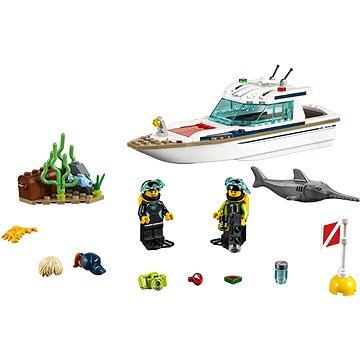 LEGO City 60221 Potápěčská jachta (5702016369533)