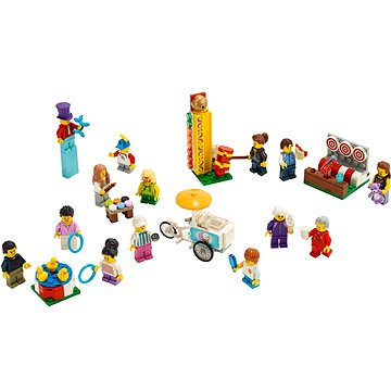 LEGO City Town 60234 Sada postav – Zábavná pouť (5702016370553)