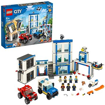 LEGO City Police 60246 Policejní stanice (5702016617801)
